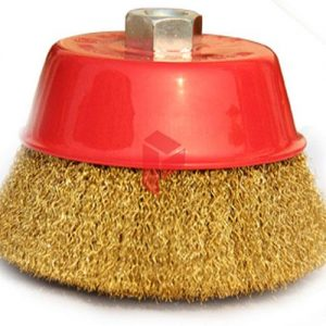 Cup Brush Crimped