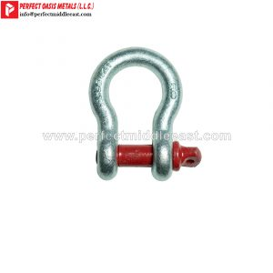Bow Shackle Hot Dip Galvanized Screw Pin Type
