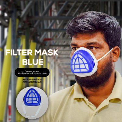 Filter mask blue