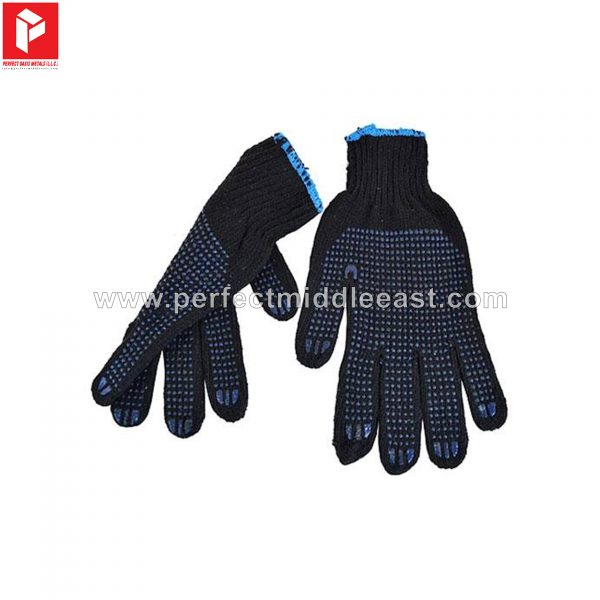 Blue Dotted Gloves Weldon