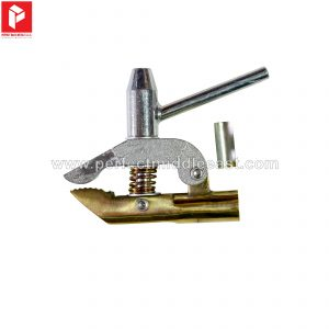 Earth Clamp Screw type both side brass
