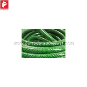 PVC Reinforced Garden Hose Green
