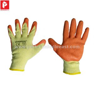 Hand Gloves Orange/Yellow