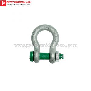 Bow Shackle Hot Dip Galvanized Bolt, Nut & Cotter Pin