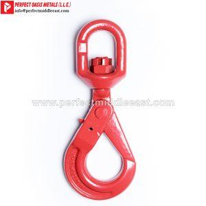 Swivel Self Locking Hook