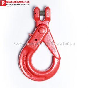Clevis Self Locking Hook