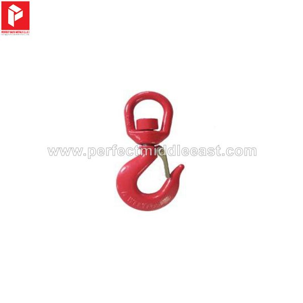 Swivel Hook Red Painted