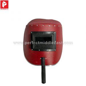 Welding Hand Shield Red