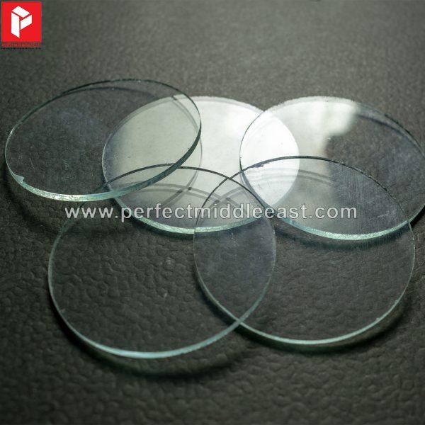 Welding Glass Clear Round
