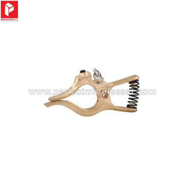 T Type Earth Clamp Brass